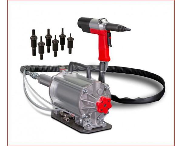 Nitownica hydrauliczno-pneumatyczna do nitonakrętek KJ73
