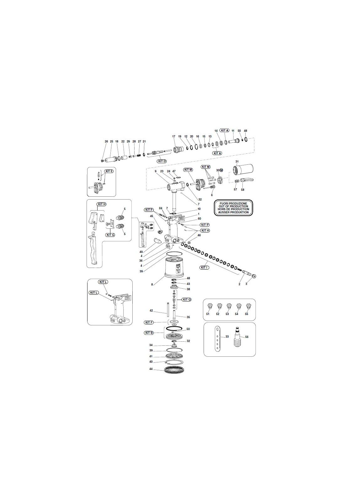 Części do nitownicy RAC181
